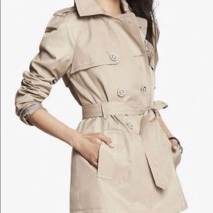 Express trench coat xs new